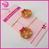 Hair Accessory Hair Bow:metal hair claw clip beautiful accessory for kids