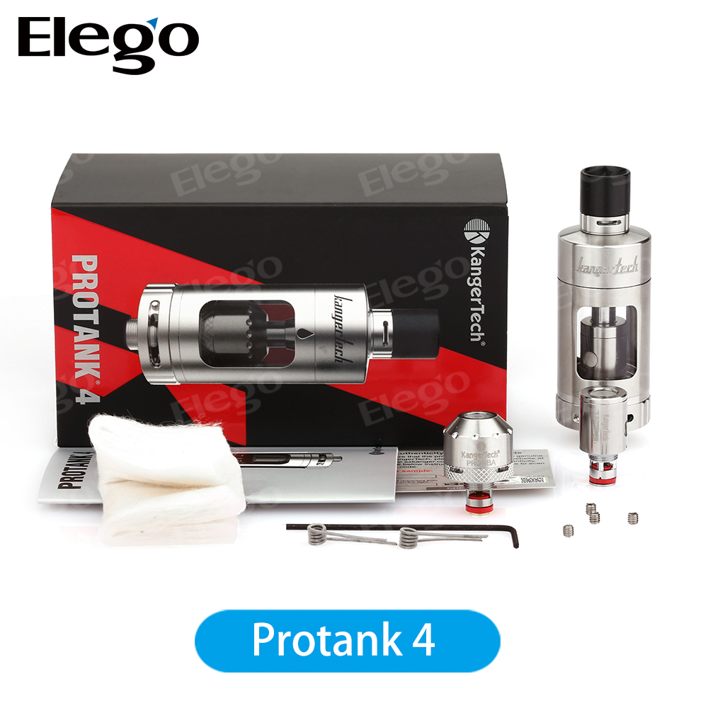 Wholesale 5ml Kanger Protank 4 Evolved Clearomizer New Kangertech Protank 4 Atomizer Kit