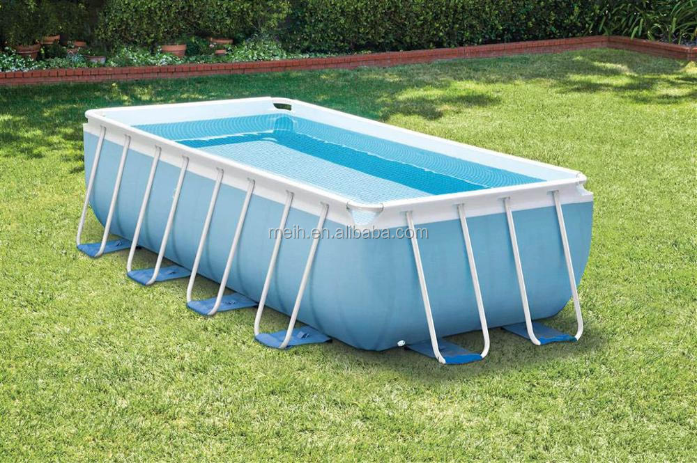 Commercial giant above ground metal frame swimming pool for sale