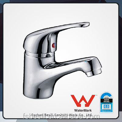 Watermark Hot and cold mixer Brass Plating Chrome Wash Basin Faucet HD6041