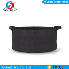 Non-Woven Fabric Reusable Soft-Sided Highly Breathable Grow Smart Planter Bag With Handles 5Pcs 50 Gallon Felt Pot