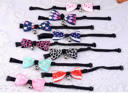 wholesale pet tie dog collar bow ties for dog pet product and accessorise