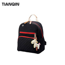 Wear-resisting Girl School Bag Travel Canvas Diaper Backpack Mummy Maternity Bag