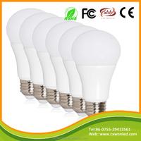 A60 Aluminum Plastic bulb lightings 220 Degree LED Lamp Bulb 3w 5W 7W 9W 11W E27 Bulb LED Light