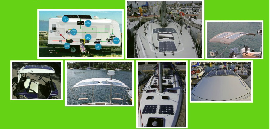 high quality for boat 200W flexible soalr panel