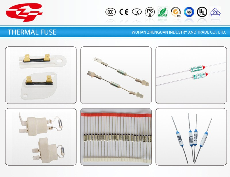 Metal RYD temperature fuse(Thermal cut-off Fuse)