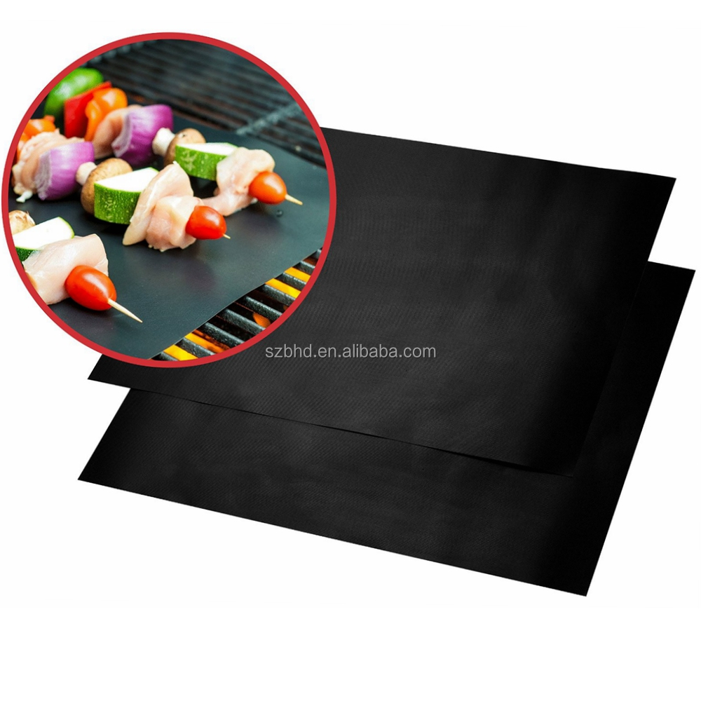 Heat Resistant BBQ Grill Baking Mat, Reusable BBQ Grill Mats for Barbeque