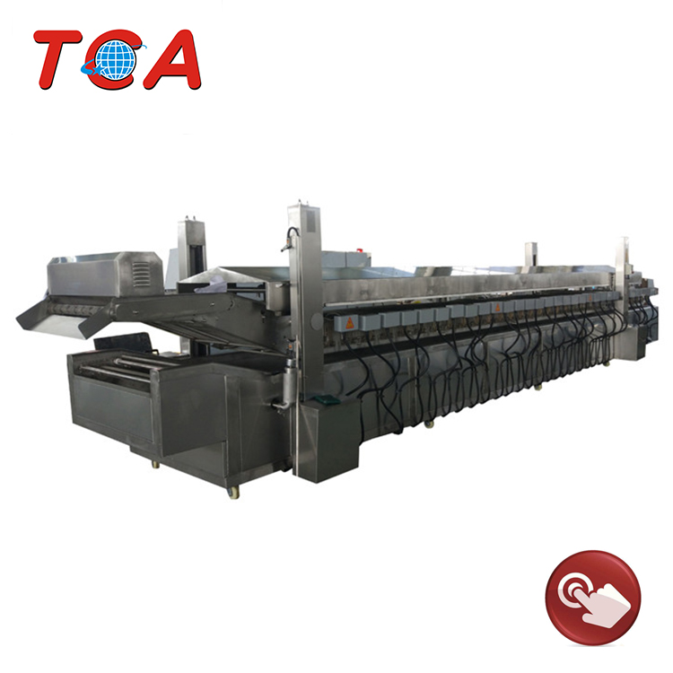 Potato Chips Production Machine Frozen French Fries Plant Frozen French Fries Processing Machinery