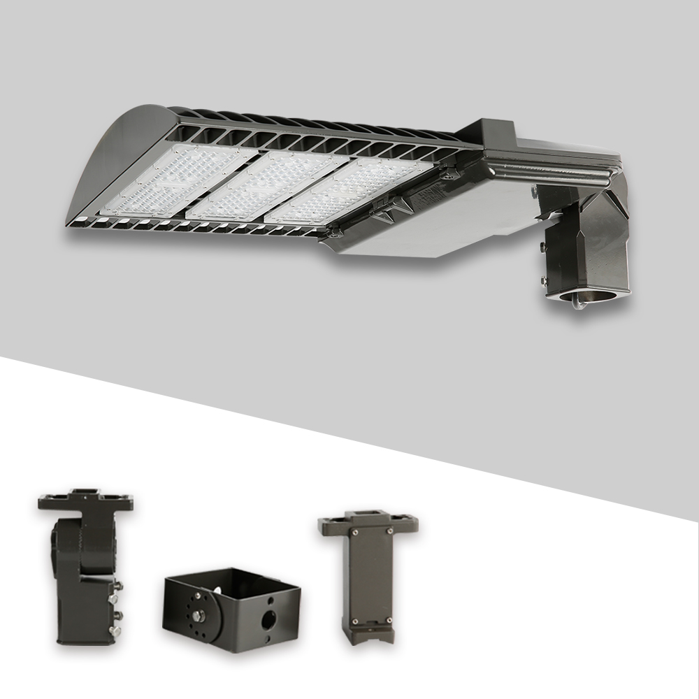 ETL DLC 4.0 approved dusk to dawn outdoor walkside driveway street roadway led flag pole lights with twistlock photocell