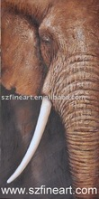 Best seller Animal Painting Elephant Decoration Animal Oil Painting