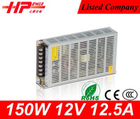 power supply manufacturers best power supply single output contage voltage 150w 12volt modular power supply