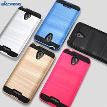 shockproof hard cover brushed cell phone case for ZTE grand X4 956