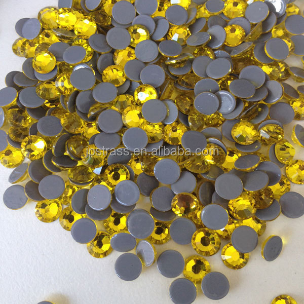6A dmc strass hotfix in super cutting shiny stones flat back diamond shooting decoration hot fix queen design