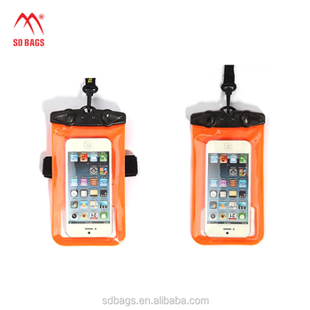 Low price Cheapest pvc waterproof bag mobile phone(SD-WB-049)