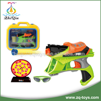 2015 Hot selling shooting target plastic pellet gun soft bullet gun best gift for children