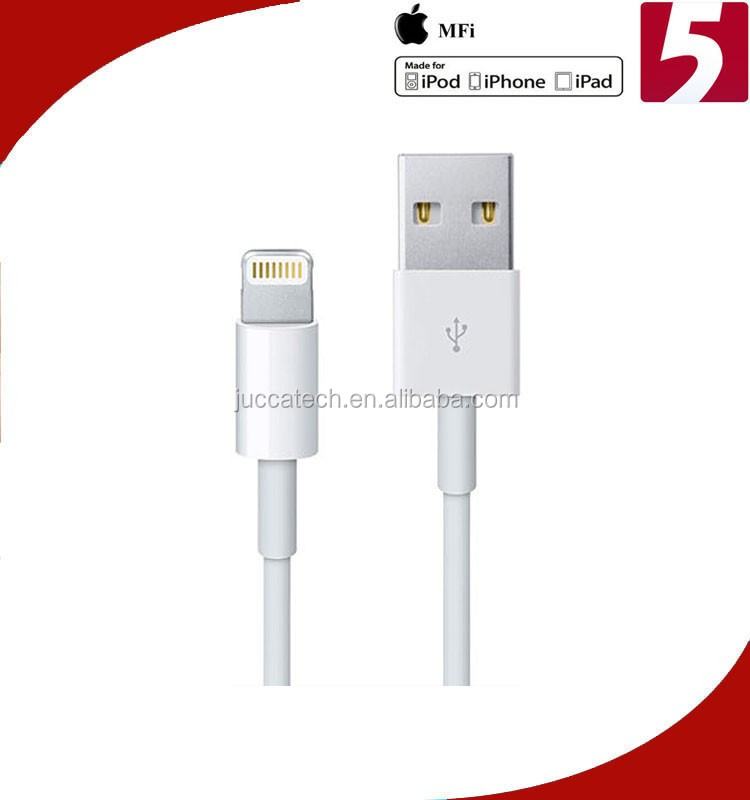 Shenzhen Manufacturer USB Cable 1 meter Data Line for iPhone 5s 5c 6 MFi Approved