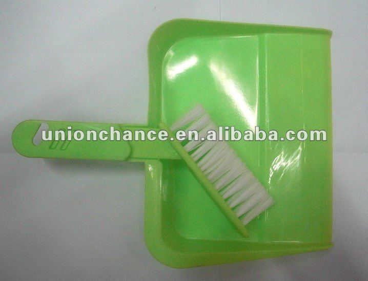 Small Cleaning Brush Plastic Mini Dustpan Brush