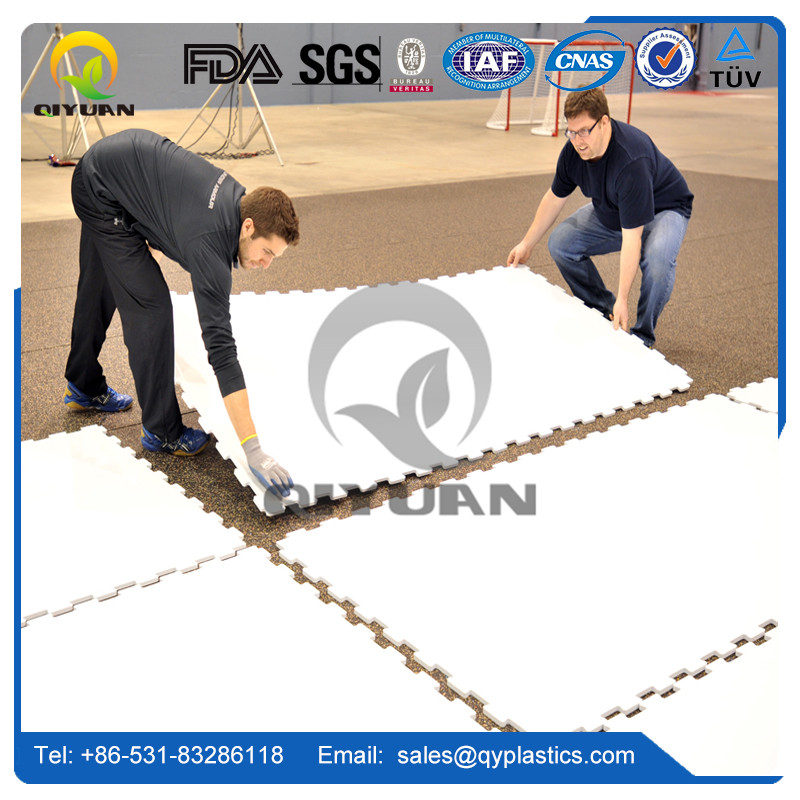Plastic hockey pad or hdpe synthetic ice rink panel