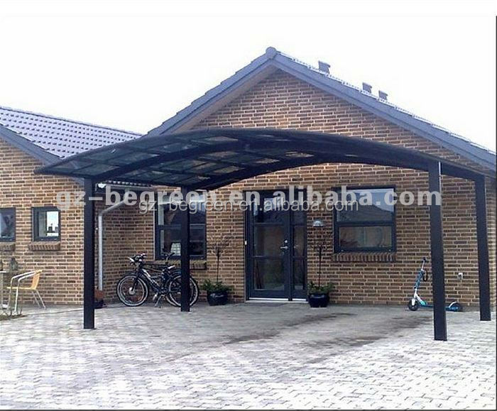 Unbreakable Highly Anodized Aluminum Pergola Carport
