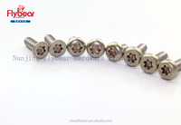 Stainless Steel Torx countersunk head screw bolt m3 m4 m5 m6 m8 m10 m12