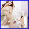 2015 Hot Fashion Women Night Wear Seductive Girls Photo Underwear Transparent Sexy Women Underwear Model