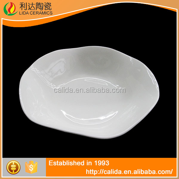 Simple and elegant fine white ceramic modern LD11719 english china dinnerware for wholesales
