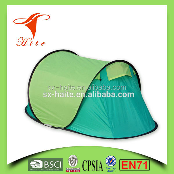 strong waterproof poly-cotton canvas camping tent outdoor pop up tent