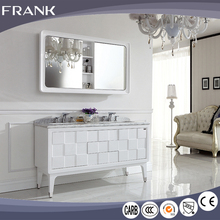 Frank China gold supplier popular design and style America Valspar painting italy bathroom cabinet made in china