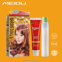 Wholesale no ammonia glow in the dark hair dye cheap with rich colour home use hair color cream