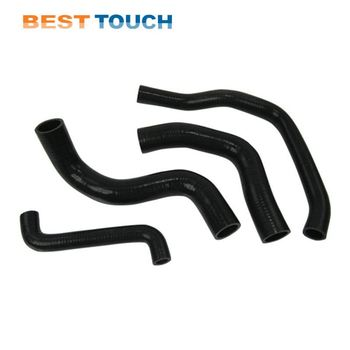 2007-2014 Jeep Wrangler Rubicon Sahara JK Front Grill Grille curved silicone hose for JEEP