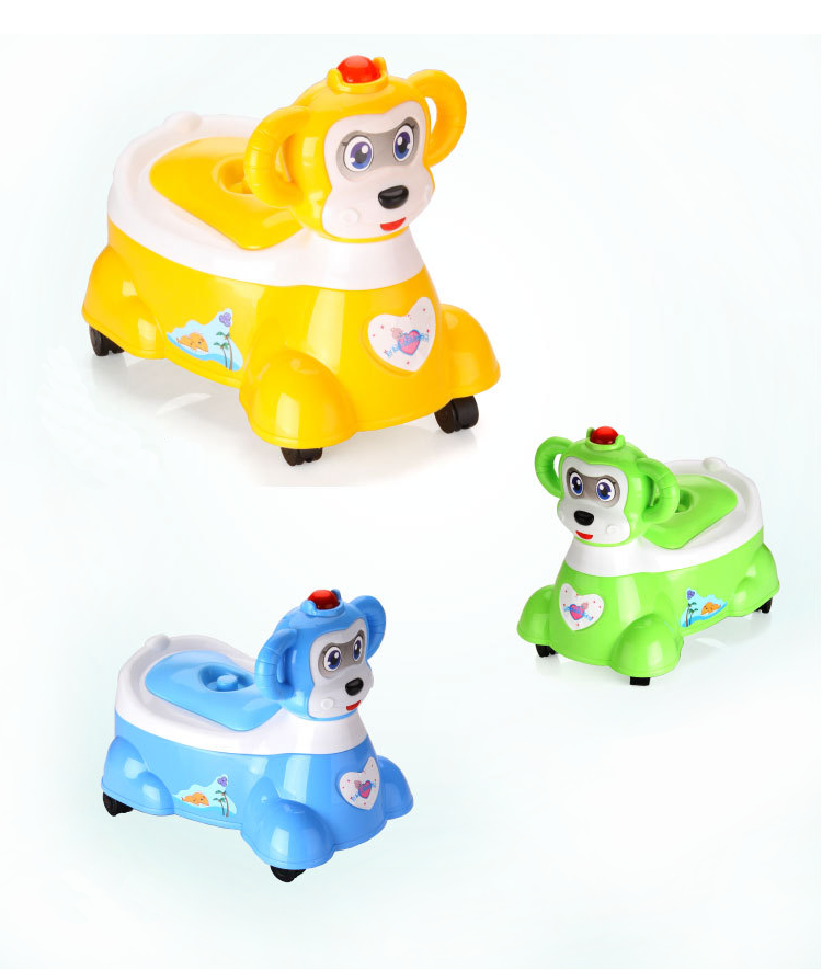 Alibaba Trade Assurance Cute Animal design Baby/Toddlers Toilet Training Potty
