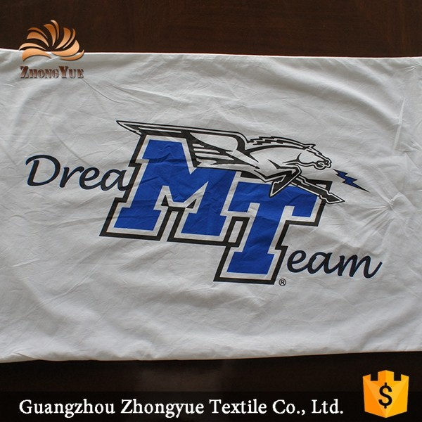 New design dream team pattern printing cotton pillow case for home