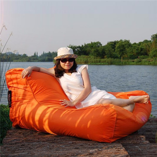 Double seat chair floating beanbag Bean Bag Pool Chair
