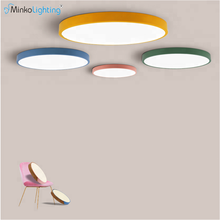 Macaron Round Dimmable 18W LED Ceiling Light