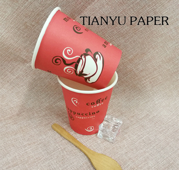 Christmas Friendly Healthy paper cup image costumed disposable paper coffee cup