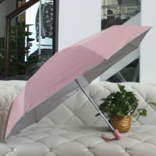 3 Folding auto open and close promotion umbrella