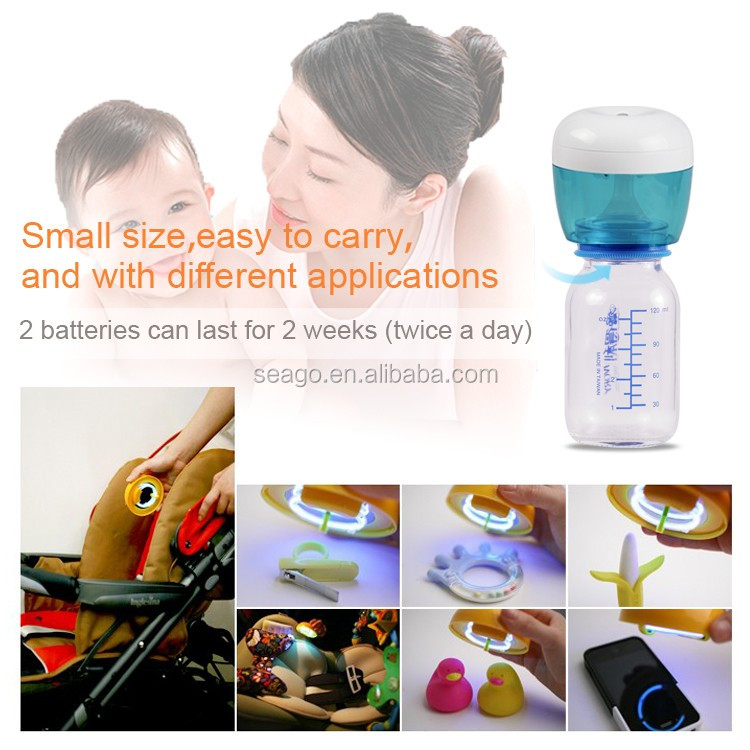 portable multi-function baby bottle UV sterilizer baby bottle pacifier uv sterilizer sg115