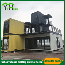chinese Ready made low cost prefabricated site container house for sale