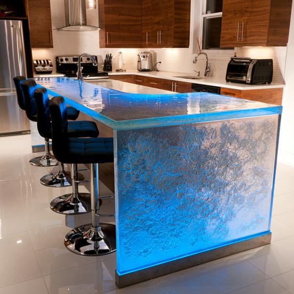 1 1 2 kitchen solid surface fiberglass white glass for Ultraglas kitchen countertops
