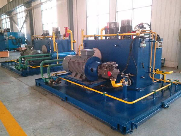 Hydraulic system is applied to the automatic pipe welding machine
