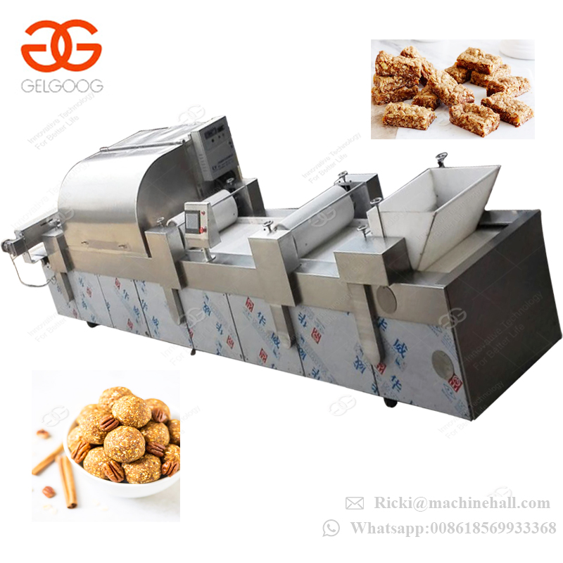 Wholesale Automatic Nut Peanut Candy Cereal Sesame Energy Bar Making Production Line Nut Bar Machine