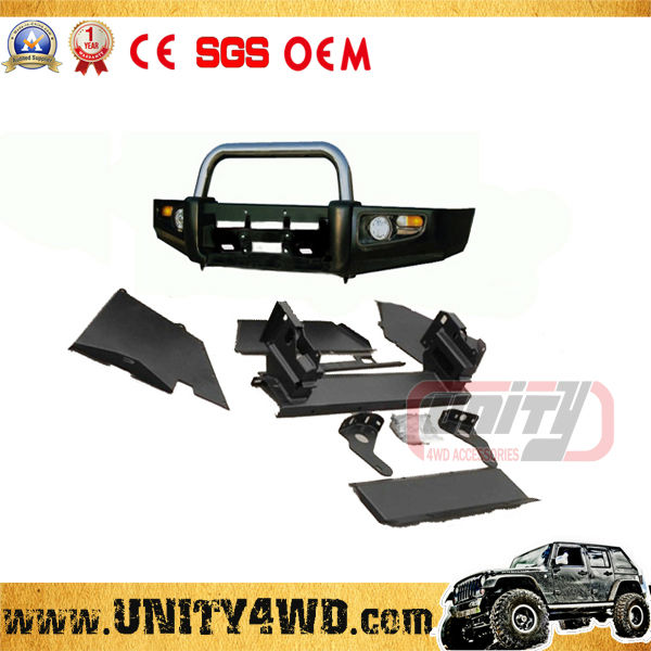 Unity manufacturer NEW MODEL MANUFACTURER 4x4 bull bar hilux and front bumper 4x4