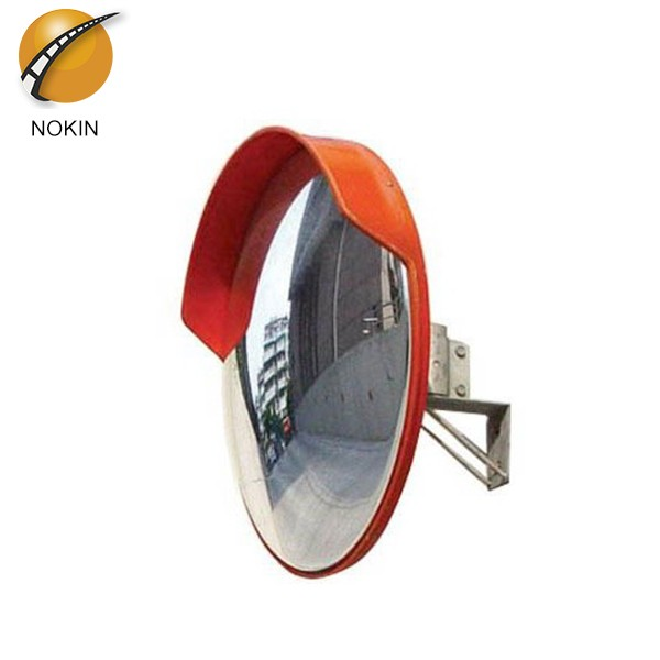 Traffic safety parking lots convex mirror