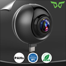 360 Degree Dual Lens 1080P HD Capture VR Live Full View Video Sports Action 720 Panorama Camera