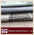 latest new design hometextile fabric/printing velboa