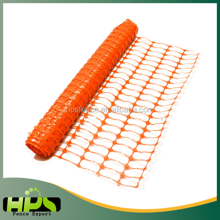 High quality plastic mesh barrier safety fence netting garden safe netting