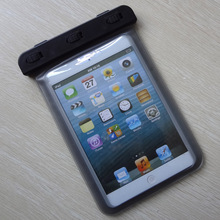 PVC TPU waterproof bag for ipad air mini for coach case