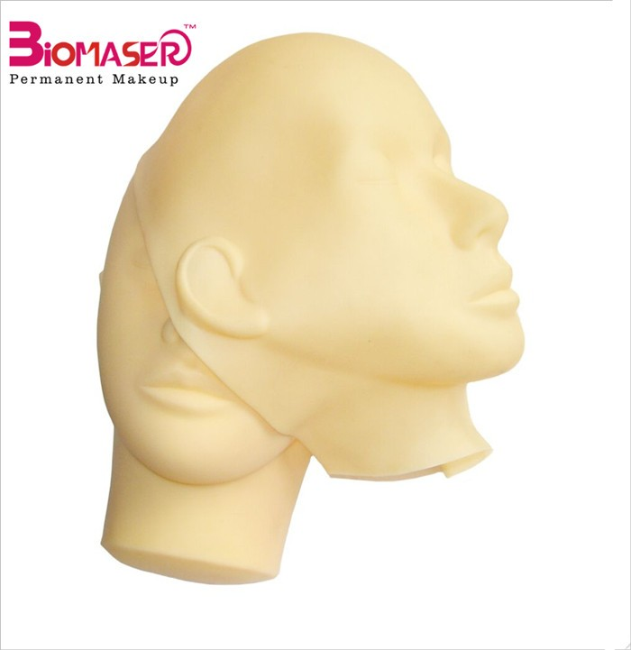 Professional Mannequin Head for Eyelash Extension Makeup Mannequin Head Makeup Practice Head