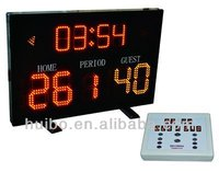 mini Portable table electronic basketball scoreboard