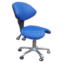 Hot Sale Professional saddle stool/Salon chair stool lab stool with backrest